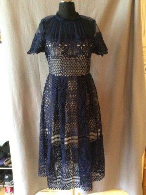 Romeo& Juliet  Couture Kleid dunkelblau Gr S