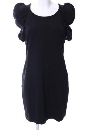Romeo & Juliet Couture Kurzarmkleid schwarz Business-Look