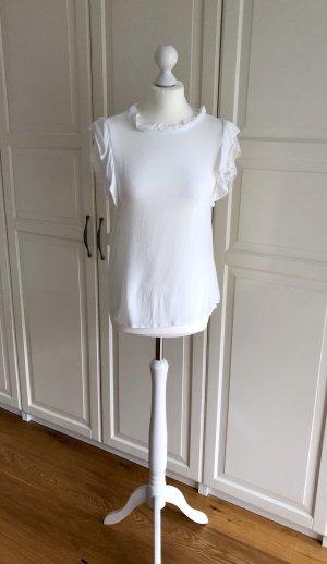 Romeo & Juliet Couture M Bluse weiß Spitze