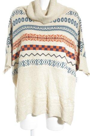 Romeo & Juliet Couture Poncho batik patroon Boho uitstraling
