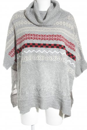 Romeo & Juliet Couture Poncho Batikmuster Boho-Look