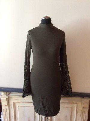 Romeo& Juliet Couture Shirtkleid Dunkelgrün Gr.  S