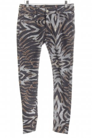 Romeo & Juliet Couture Skinny Jeans abstraktes Muster Casual-Look