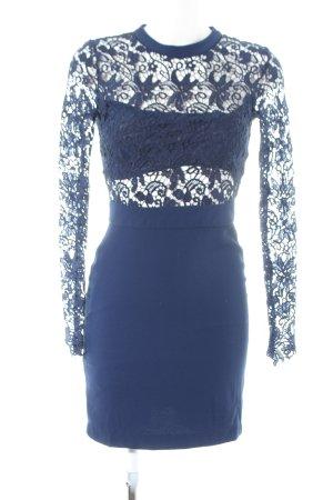 Romeo & Juliet Couture Spitzenkleid blau Elegant