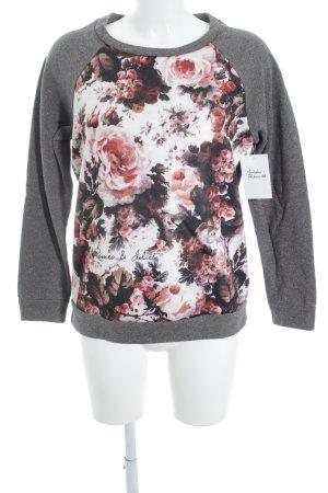Romeo & Julieta Sweatshirt florales Muster Casual-Look