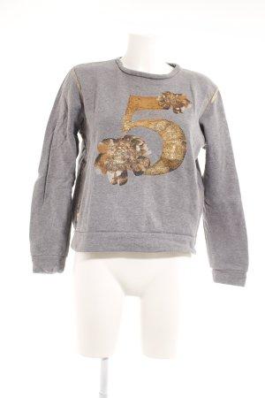 Romeo & Julieta Sweatshirt Motivdruck Casual-Look