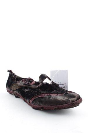 Romika Schlüpfschuhe braunrot extravaganter Stil