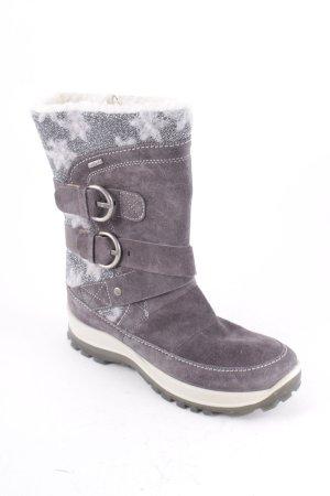 Romika Botas de invierno gris-color plata look Street-Style