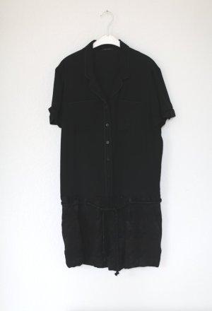 Romper Jumpsuit von Ikks neu mit Etikett Brokat schwarz Gr. 38 mit Kordel