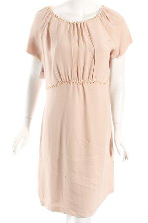 Ronit Zilkha Kurzarmkleid rosé Brit-Look