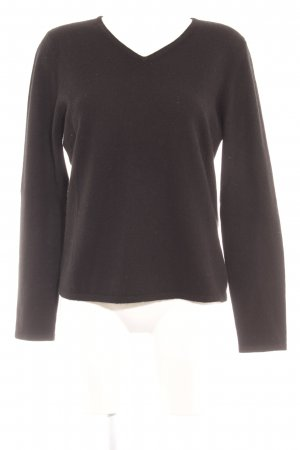Ronit Zilkha Wollpullover schwarz Casual-Look