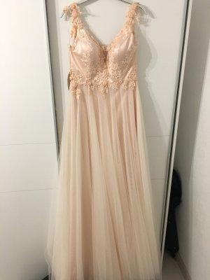Rosa Abendkleid ....