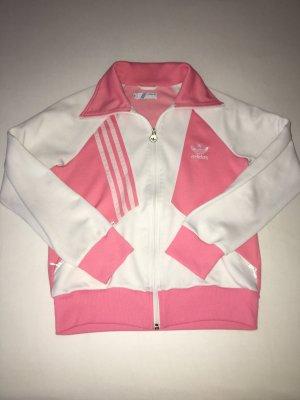 Rosa Adidas Sportjacke