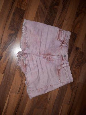 Clockhouse Short taille haute vieux rose-rosé coton