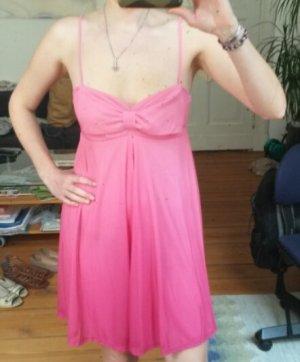 H&M Babydoll Dress magenta-pink