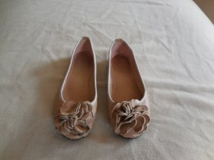 Pieces Ballerinas pink imitation leather