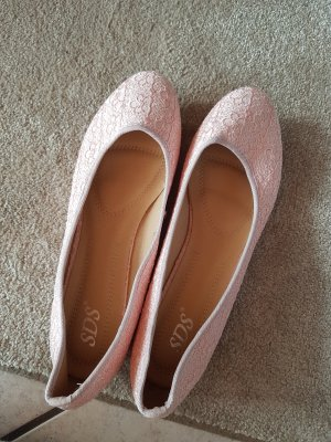 SDS Ballerinas with Toecap pink