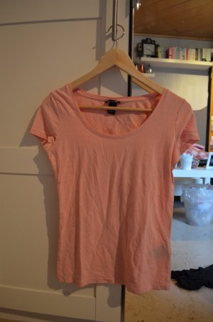 Rosa Basic Shirt von H&M