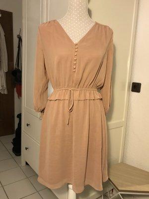 Rosa/ Beiges Kleid von H&M GR 36