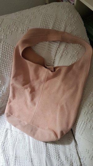 Made in Italy Bolso tipo marsupio rosa empolvado