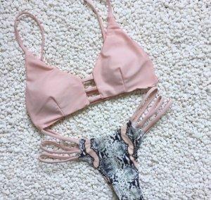 Rosa Bikini Oberteil