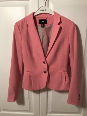 Rosa Blazer, Pinker Blazer H&M 36