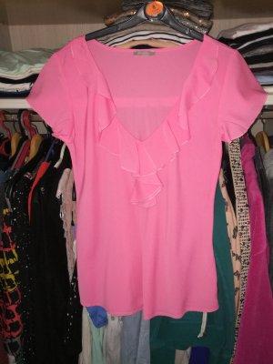 rosa bluse gr. 36/38