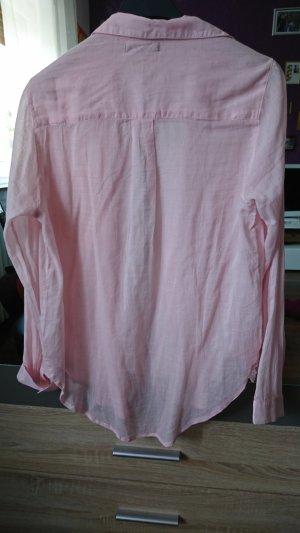 rosa Bluse langärmlig