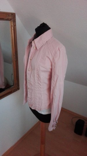 Rosa Bluse Marc Cain tailliert