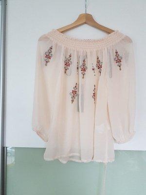 Morgan Blusa rosa pallido