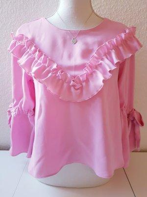 Rosa Bluse von Zara