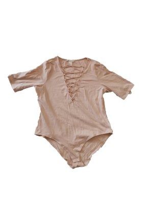H&M Short Sleeve Sweater light pink