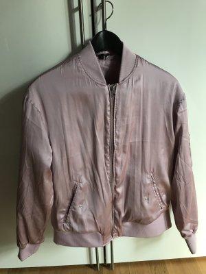 H&M Bomber Jacket light pink