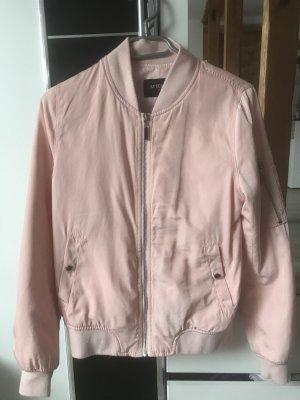 Attentif Giacca bomber rosa pallido-rosa chiaro