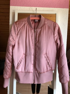 H&M Blouson aviateur or rose-rose polyester