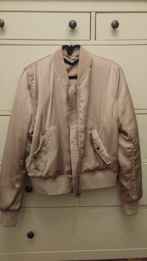 H&M Divided Bomber Jacket dusky pink