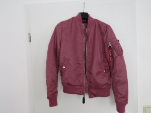 Alpha Industries Bomberjack roze Nylon