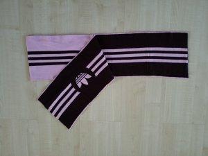 Adidas Sciarpa marrone scuro-rosa chiaro