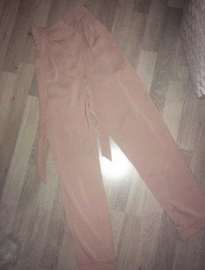 Pull & Bear Pantalon à pinces or rose
