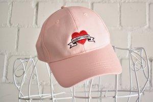 Baseball Cap light pink mixture fibre
