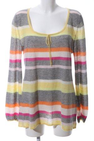 Rosa Cashmere Jumper striped pattern casual look