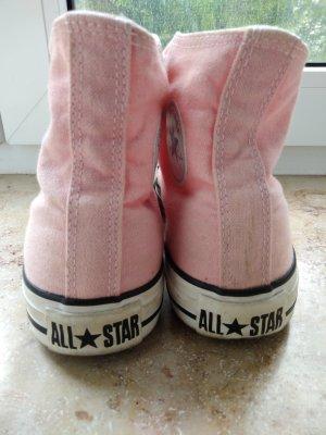 Rosa Converse Hi Top Sneaker Gr 36