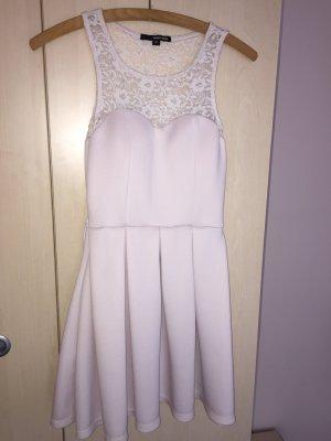 Rosa/Cremefarbenes Kleid in 34