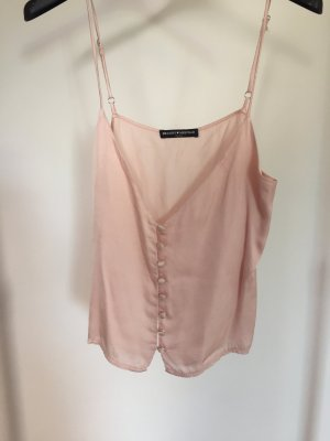 rosa Cropped-Top von Brandy Melville