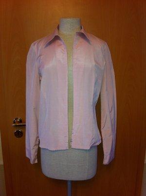rosa Damen Bluse von MISS, Größe 36, Reißverschluss, geht auch als Jäckchen