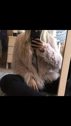 H&M Fur Jacket pink