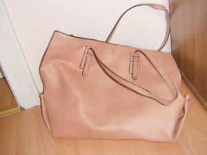 rosa  farbender shopper