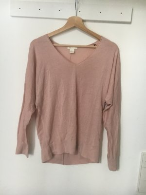 Rosa farbenes Langarmshirt