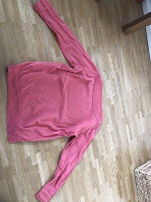 Rosa farbenes Wollpulli