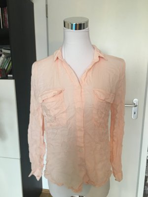 Rosa fließende Bluse von Mango, S
